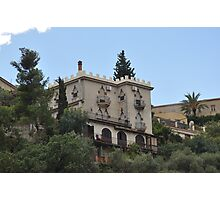 Casona señorial. Messina, Alto.       (Sicilia), Italia.  Photographic Print
