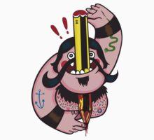 Pencil Swallower by elnenvudu