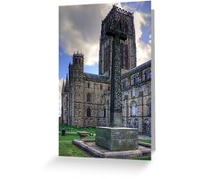 Durham Light Infantry Memorial Cross Greeting Card