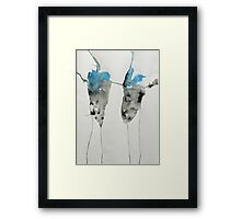 Untitled Abstract Study 45 Framed Print