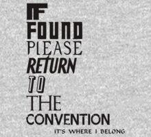 If found One Piece - Short Sleeve