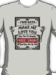 Romantic Beer T-Shirt