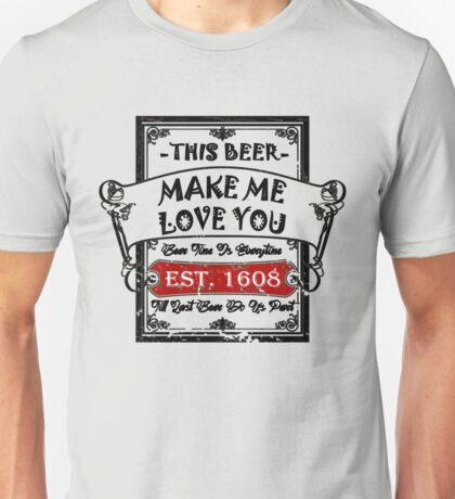 Romantic Beer Unisex T-Shirt