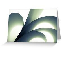 black and white ideas Greeting Card