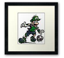 Luigi Striker Framed Print