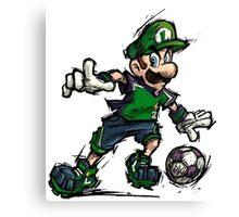 Luigi Striker Canvas Print