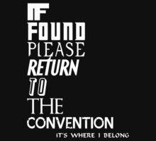If found- white T-Shirt