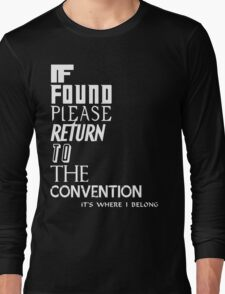 If found- white Long Sleeve T-Shirt