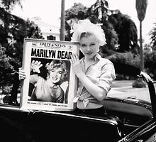 Marilyn Monroe Weird Dead Display by finalscore