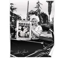 Marilyn Monroe Weird Dead Display Poster