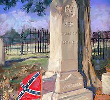 Tennessee War Dead at Battle of Franklin by COusley622