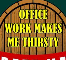 Beer Me Sticker