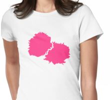 Cheerleading pom poms Womens Fitted T-Shirt