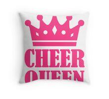 Cheer queen champion Throw Pillow