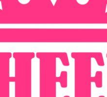Cheer queen champion Sticker