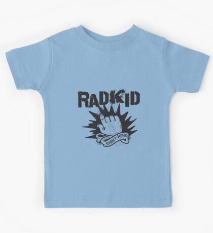 Rad Kid - Right Here Kids Tee