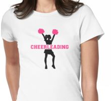 Cheerleading girl Womens Fitted T-Shirt