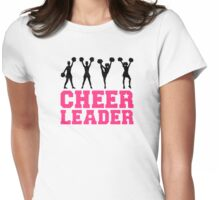 Cheerleader girls dancing Womens Fitted T-Shirt