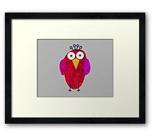 Owlette Framed Print