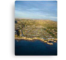 Aerial Newport Beach,California Canvas Print