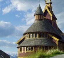St. Olaf church - Balestrand - Norway Sticker
