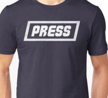 PRESS White - FrontLine Unisex T-Shirt
