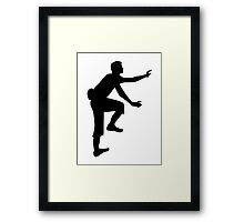Climbing sports Framed Print