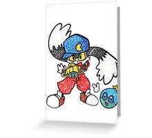 Klonoa Greeting Card