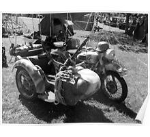 Gun carrying sidecar Poster
