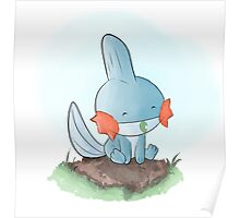 Mudkip is resting Poster