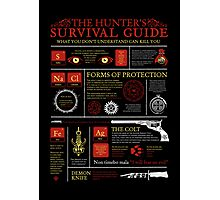 The Hunters Survival Guide Photographic Print