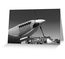 Supermarine Spitfire Greeting Card