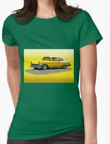 1956 Chevrolet Post Coupe II Womens Fitted T-Shirt