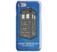 Doctor Who, Doctor Who? iPhone Case/Skin