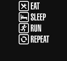 Eat sleep run repeat Unisex T-Shirt