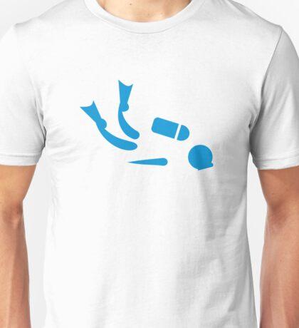 Scuba diver Unisex T-Shirt