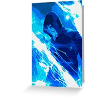 Amazing Spider-man 2 Electro Painting Greeting Card