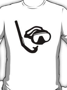 Diving glasses snorkel T-Shirt
