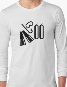 Diving equipment Long Sleeve T-Shirt