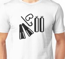 Diving equipment Unisex T-Shirt