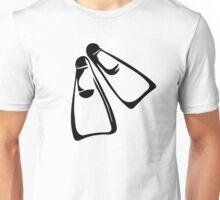 Diving fins Unisex T-Shirt
