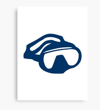 Diving goggles glasses Canvas Print
