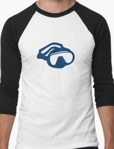 Diving goggles glasses Men's Baseball ¾ T-Shirt