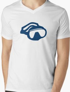 Diving goggles glasses Mens V-Neck T-Shirt