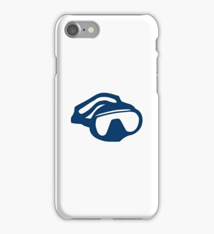 Diving goggles glasses iPhone Case/Skin