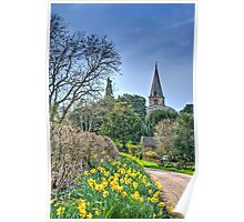 Swerford In Spring Poster