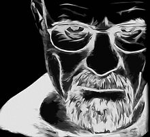 Walter White Print by Colin Bradley