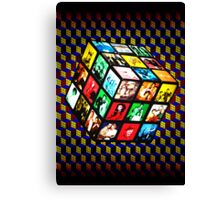 Rubik TV Canvas Print