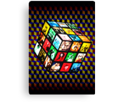 Rubik TV Canvas Print