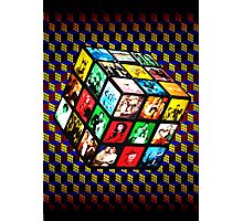 Rubik TV Photographic Print